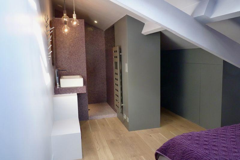 suite parentale avec salle de bain et dressing dans les combles - Suite Parentale Avec Salle De Bain Sous Comble
